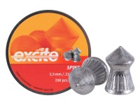 H&N Excite Spike Pellets, .22 Cal, 15.74 Grains, Pointed, 200ct