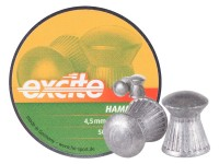 H&N Excite Hammer Pellets, .177 Cal, 7.87 Grains, Domed, 500ct