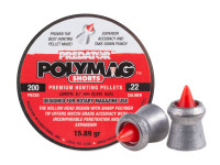Predator Polymag Shorts, .22 Cal Pellets, 15.75 Grains, Pointed, 200ct