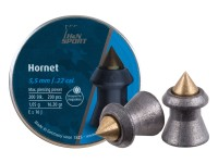 Haendler & Natermann H&N Hornet Pellets, .22 Cal, 16 Grains, Pointed, 200ct