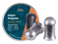 Haendler & Natermann H&N Sniper Magnum Pellets, .177 Cal, 15 Grains, Domed, 300ct