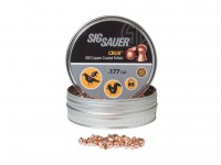 SIG Sauer Sig Sauer Crux Copper-Plated .177 Cal, 8.80 Grains, Round Nose, 300ct