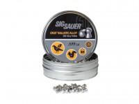 SIG Sauer Sig Sauer Crux Ballistic Alloy Pellets, .177 Cal, 5.56 Grains, Domed, 300ct