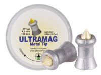 Skenco UltraMag Metal Tip, .177  Cal, 10.7 Grains, Pointed, 150ct