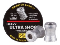 JSB Ultra Shock, .177 Cal, 10.3  Grains, Hollowpoint, 350ct