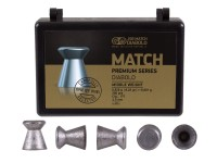 JSB Match Premium Medium .177 Cal, 8.02 Grains, Wadcutter, 200ct