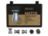 JSB Match Premium Heavy .177 Cal, 8.26 Grains, Wadcutter, 200ct