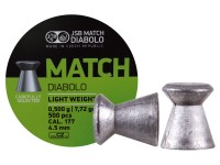 JSB Green Match Light Weight  .177 Cal, 7.72 Grains, Wadcutter, 500ct