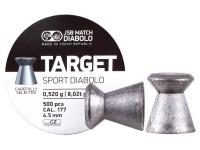 JSB Target Sport .177 Cal, 8.02 Grains, Wadcutter, 500ct