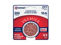 Crosman Premier Copper Magnum .177 Cal, 10.6 Grains, Domed, 200ct