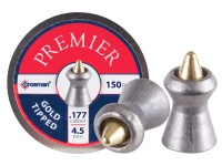 Crosman Premier Gold Tip .177 Cal, 8.9 Grains, Pointed, 150ct