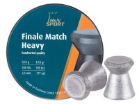 Haendler & Natermann H&N Finale Match Heavy .177 Cal, 8.18 Grains, 4.49mm, Wadcutter, 500ct