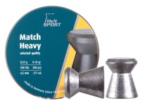 Haendler & Natermann H&N Finale Match Heavy .177 Cal, 8.18 Grains, 4.50mm, Wadcutter, 500ct