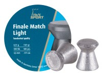 Haendler & Natermann H&N Finale Match Light .177 Cal, 7.87 Grains, 4.49mm, Wadcutter, 500ct