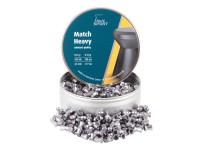 Haendler & Natermann H&N Match Heavy .177 Cal, 8.18 Grains, 4.49mm, Wadcutter, 500ct