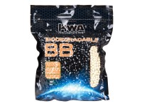 KWA Biodegradable Airsoft BBs, 0.20g, White, 5,000 Rds