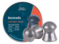 H&N Baracuda .30 Cal, 46.3 Grains, Round Nose, 100ct