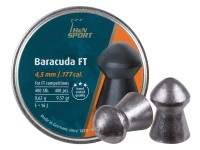 H&N Baracuda FT .177 Cal, 4.51mm, 9.57 Grains, Round Nose, 400ct