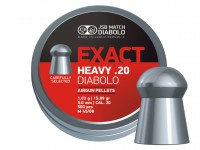 JSB Match Diabolo Exact Heavy .20 Cal, 15.89 Grains, Domed, 500 Count