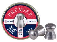 Crosman Premier .22 Cal, 19 Grains, Domed, 200ct