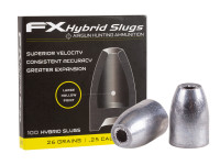 FX Hybrid Slug, .25 Cal, 26 Grains, Hollowpoint, 100ct