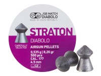 JSB Straton .177 Diabolo, 8.26gr, Pointed 500 ct