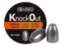 JSB KnockOut Slugs .217 Cal, 25.39gr, Hollowpoint, 200ct