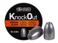 JSB KnockOut Slugs .216 Cal, 25.39gr, Hollowpoint, 200ct