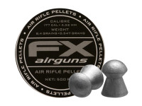 FX Air Rifle Pellets .177 Cal, 8.4 Grains, Domed, 500ct., 4.52mm