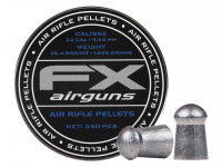 FX Air Rifle Pellets .22 Cal, 25.39 Grains, Domed, 350ct.