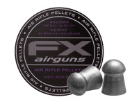 FX Air Rifle Pellets .25 Cal, 33.95 Grains, Domed, 300ct.