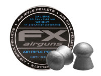 FX Air Rifle Pellets .30 Cal, 44.8 Grains, Domed, 150ct.