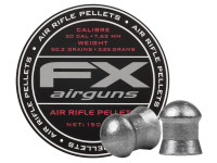 FX Air Rifle Pellets .30 Cal, 50.2 Grains, Domed, 150ct.
