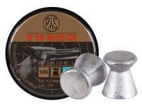 RWS R-10 Match Pistol .177 Cal, 7.0 Grains, 4.48mm, Wadcutter, 500ct