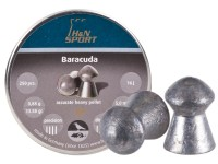 H&N Baracuda .20 Cal, 13.58 Grains, Round Nose, 250ct