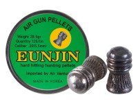Eun Jin .22 Cal, 28.5 Grains, Domed, 125ct