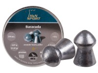 H&N Baracuda .25 Cal, 30.86 Grains, Round Nose, 150ct