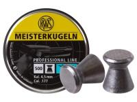 RWS Meisterkugeln Pistol .177 Cal, 7.0 Grains, Wadcutter, 500ct