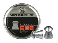 RWS Super-H-Point .177 Cal, 6.9 Grains, Hollowpoint, 300ct