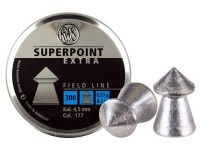 RWS Superpoint Extra .177 Cal, 8.2 Grains, Pointed, 300ct