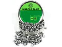 RWS Diabolo Basic .177 Cal, 7.0 Grains, Wadcutter, 500ct