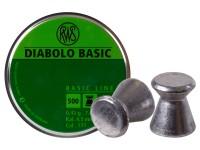 RWS Diabolo Basic .177 Cal, 7.0 Grains, Wadcutter, 500ct