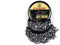RWS R-10 Match Heavy .177 Cal, 8.2 Grains, Wadcutter, 500ct