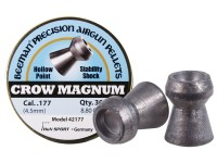 Beeman Crow Magnum .177 Cal, 8.80 Grains, Hollowpoint, 300ct
