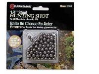 Marksman 1/4 inch Steel Shot, 250ct