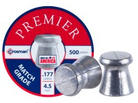 Crosman Premier Match Grade .177 Cal, 7.9 Grains, Wadcutter, 500ct