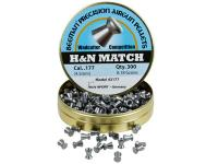 Beeman H&N Match .177 Cal, 8.18 Grains, Wadcutter, 300ct