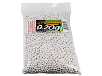 TSD Competition Grade 6mm plastic airsoft BBs, 0.20g, 5,000 rds, white