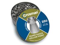 Crosman Silver Eagle Pellets .177 Cal, 4.8 Grains, Hollowpoint, Lead-Free, 250ct