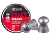 JSB Diabolo Exact Jumbo .22 Cal, 15.89 Grains, Domed, 500ct